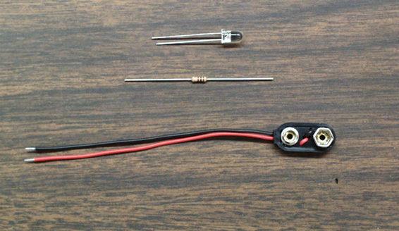 LEDs Circuit Pieces