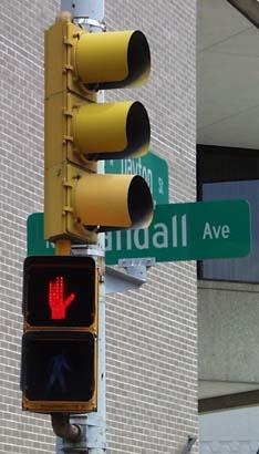 LEDs Don't Walk Sign