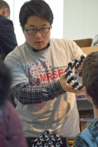 researcher at Engineering Expo