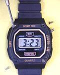 Liquid crystal watch